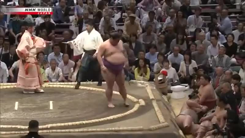 And out you go. join list: SumoSlammers (134 subs)Mention Clicks: 719Msgs Sent: 1626Mention History Meisei vs Yoshikaze, Natsu Basho 2019 Day 2 - May 13th .. One thing I'm curious about is how do they decide when to start? It seems like one guy just decides to go all of the time