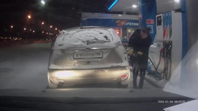 RUN RUN!. .. Why the do people do that? I've seen like three videos of people bringing an open flame to a gas nozzle and they all end up the way you would expect them toComm