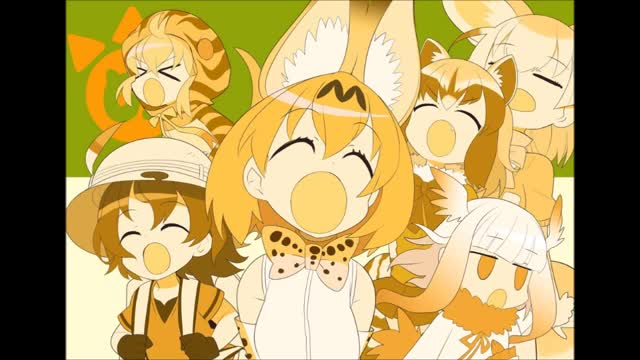 I haven't even watched kemono friends. 4chan /a/ sings the opening of kemono friends Just like lovelive, SchoolIdol, kantai or any other moe anime, most of us l