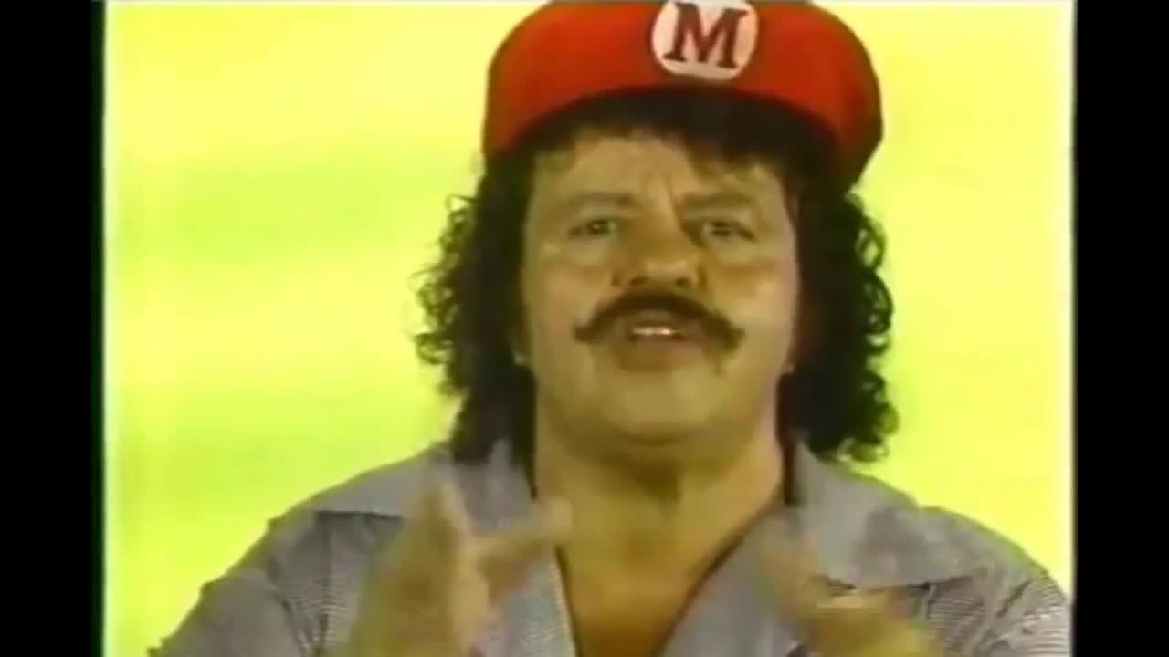 Thank you Captain Lou Albano. .. the Mario?