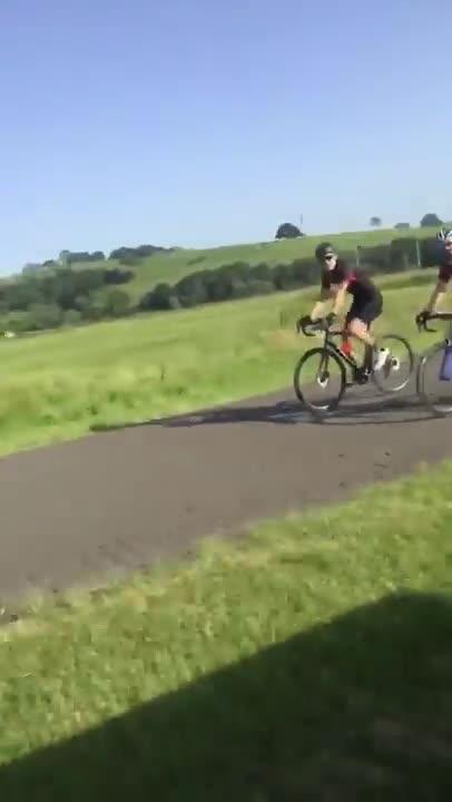 Australian man. .. hate bikers. Just ride in neighborhoods or bike paths like everyone else. Stop driving on 2-lane roads that are 55mph. cunts
