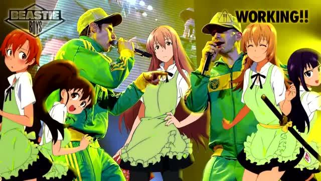 "You a Thug but Anime is Life Music Comp. Black and Yellow Sketch | Hidamari Sketch x Wiz Khalifa ""B-Blaze it Senpai"" Give It All Your Sailor Fuku (Lil"