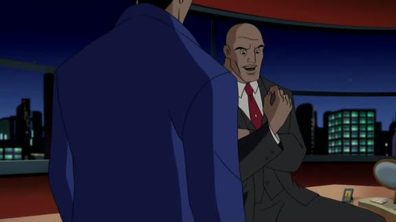 """Lex Luthor. One of the greatest villians of all time.. Gotta admit, """"Do you have any idea how much power I'd have to give up to be president?"""" is a really good line."""