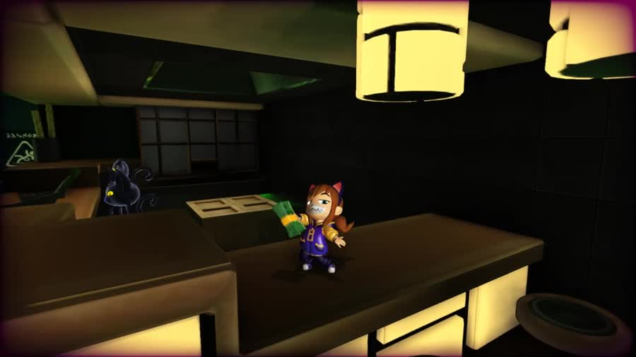 Nyakuza DLC - A Hat In Time. Anyone else get this? It seems pretty cool so far. I like it. I was excited about it like two weeks ago and I forgot it was coming