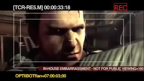 D.C. Douglas as Albert Wesker RE5 Outtakes. .