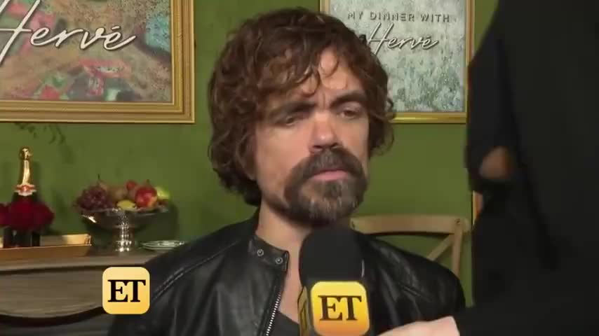 why does this look like a hostage video. .. i sad we didn't get a scene where some muggers grab tyrion by the ankles and hold him upside down and shake gold coins out of his tiny pockets