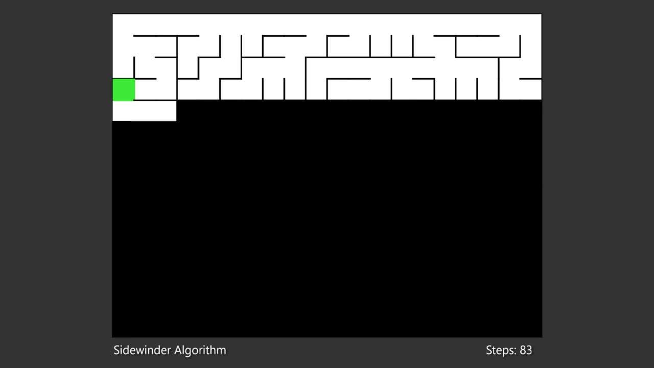 Maze Generation. .. algorithms are cool https://www.youtube.com/watch?v=kPRA0W1kECg