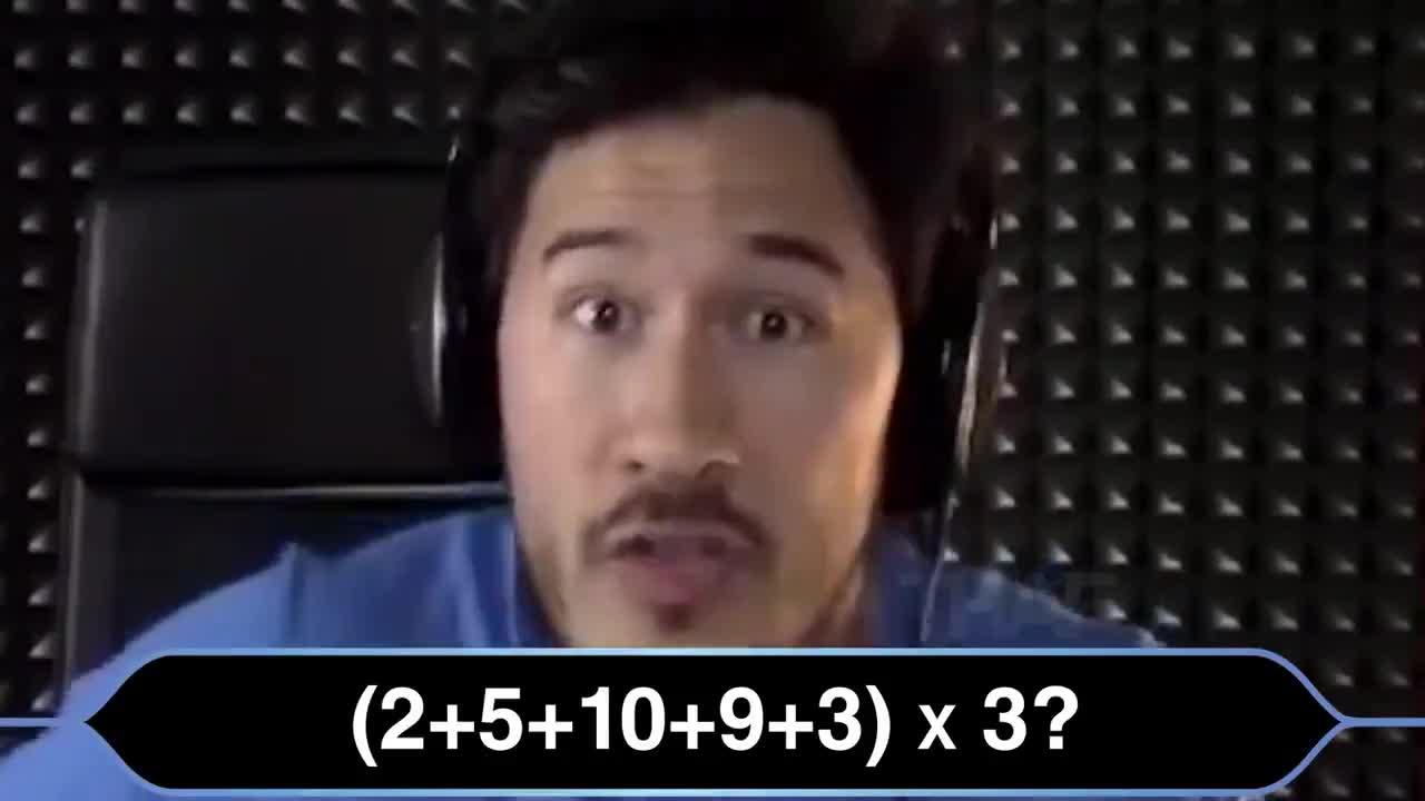 Markiplier does math. .. math