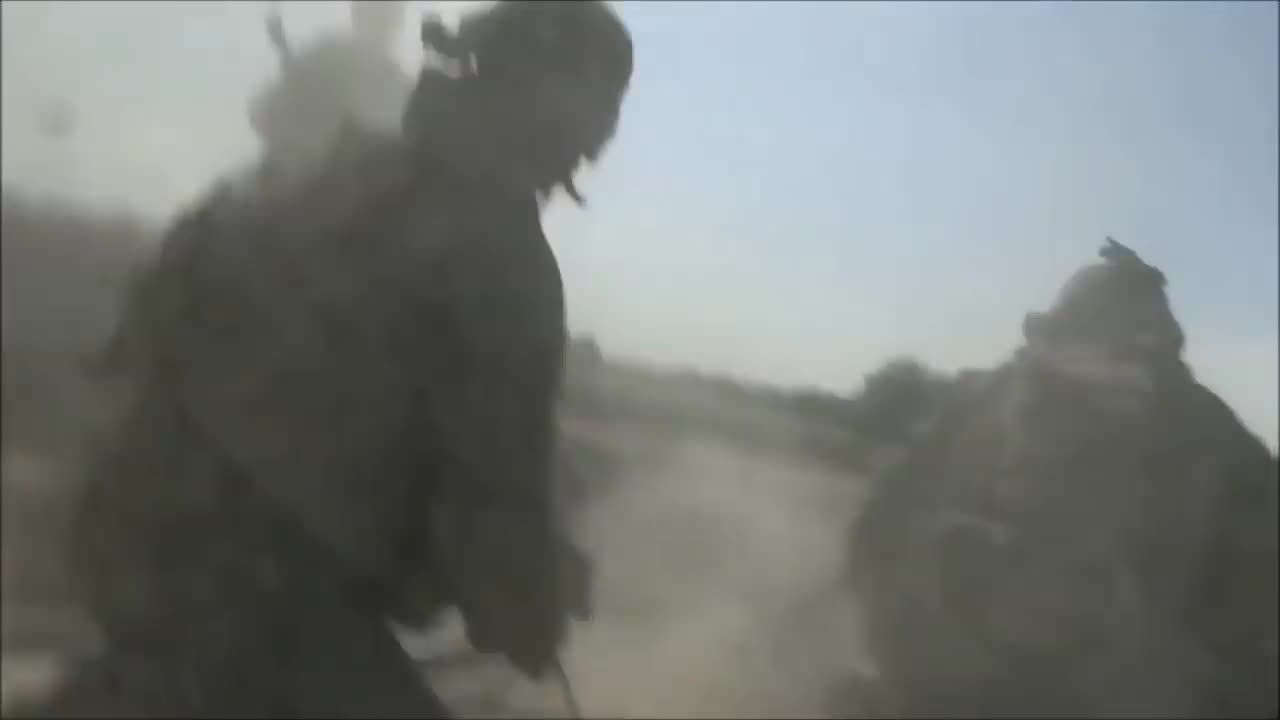 SAS and marines in firefight with taliban. ..