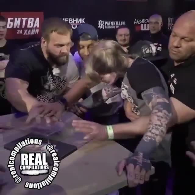 "Vasily ""Pelmen"" Kamotsky vs. Danya Beliy. join list: StoneFaces (34 subs)Mention History.. I can really see the passion from that slap as pelmen decks him in the face. tats and piercings looks like he was a talker. not to mention tatas and piercings j"