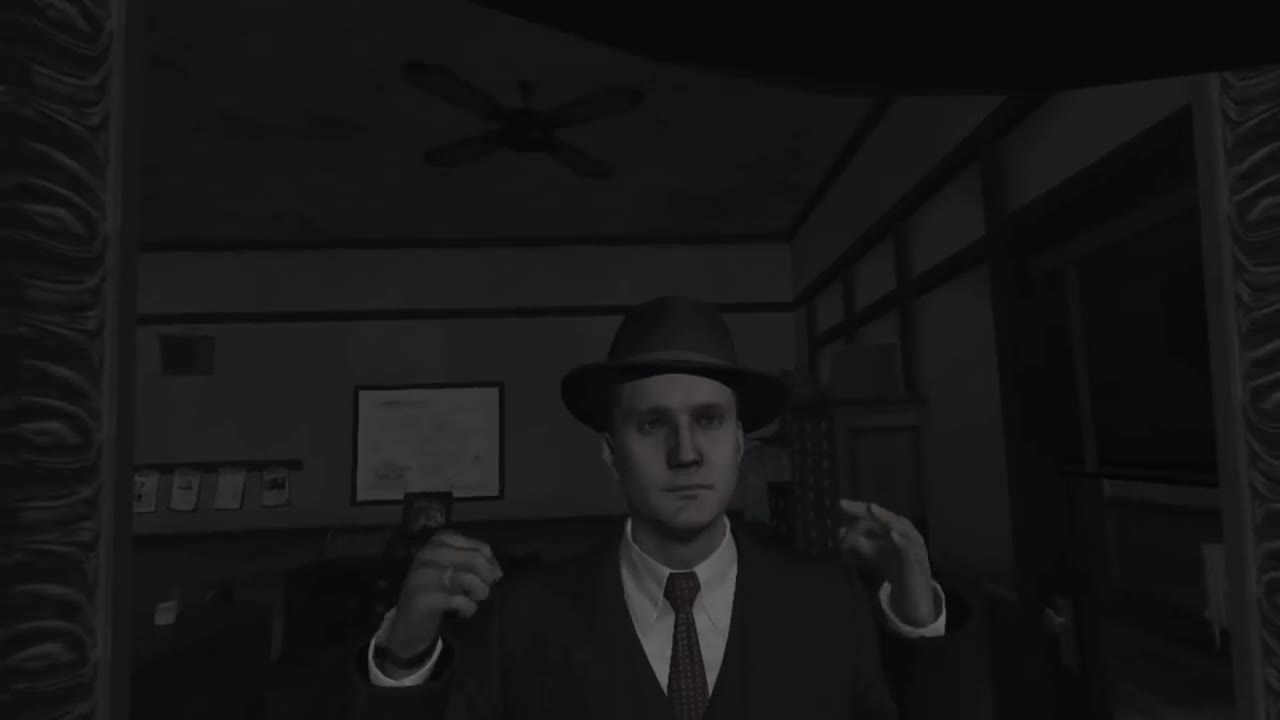 Cole Phelps The VR Gumshoe. Sauce is L.A. Noire VR Youtuber goes by the name of VR Pat Link to the vid - .