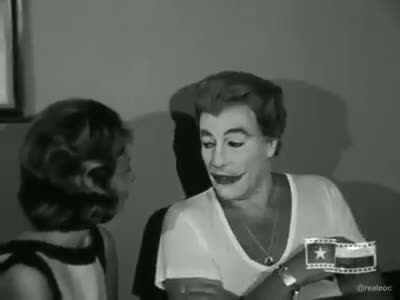 Cesar Romero was a gentleman. .. I love the old timey mid-Atlantic accent like that.