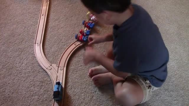 Nicholas solves the trolley problem. uh oh.. this kid is a realist