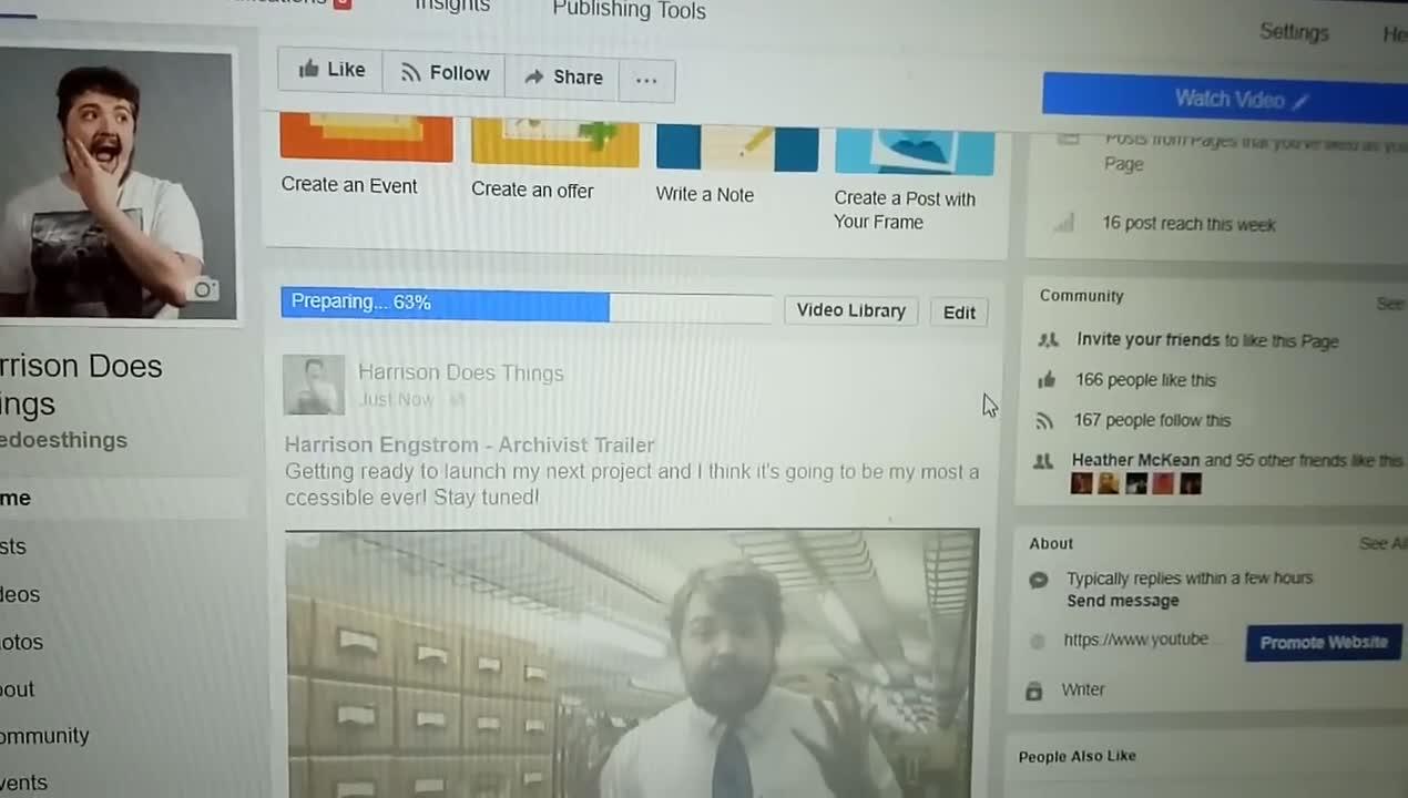 Facebook video uploading. .. I've always felt like Facebook was crappy.
