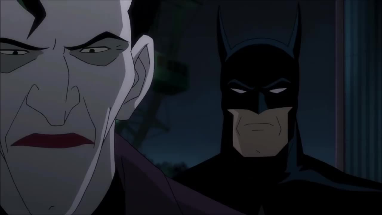 Killing Joke. .. Movie was okay, but I wish the speech scene sounded more like this.