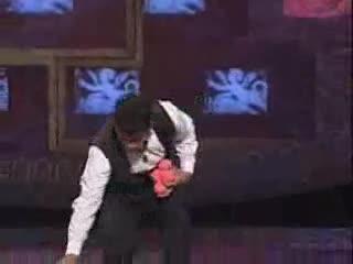 Amazing performance. .. He sure handles his balls well