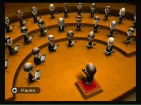 Wii choir. .