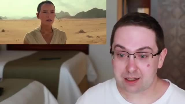 Soyboy reacts to Disney's Star Wars trailer. .. I understand people like and have passion for certain things but when you have tissues on stand by because you know you are going to cry from a TEASER trailer t