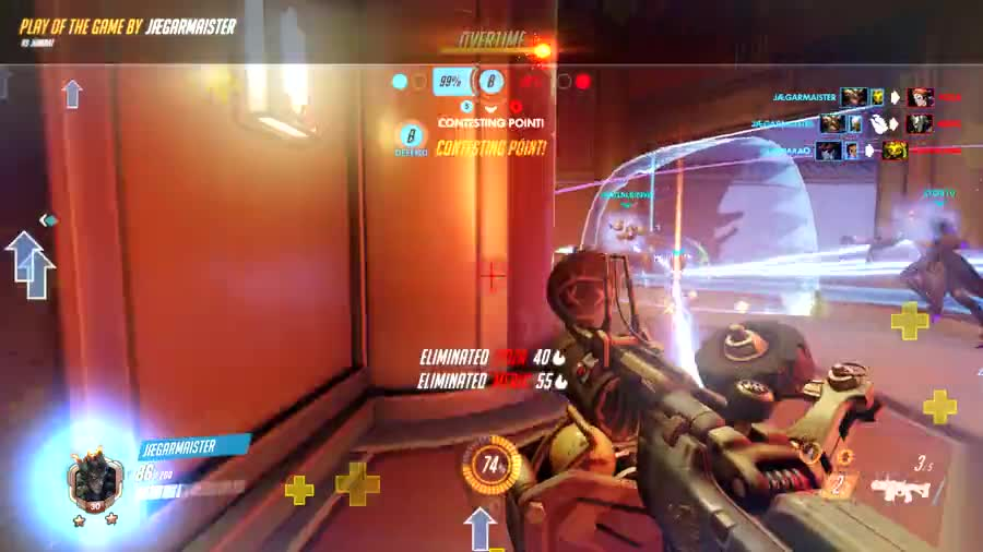 Calculated shots. I swear I did not panic. It was all part of the plan.. And people wonder why I hate junkrat. no one wonders that. He's just awful.