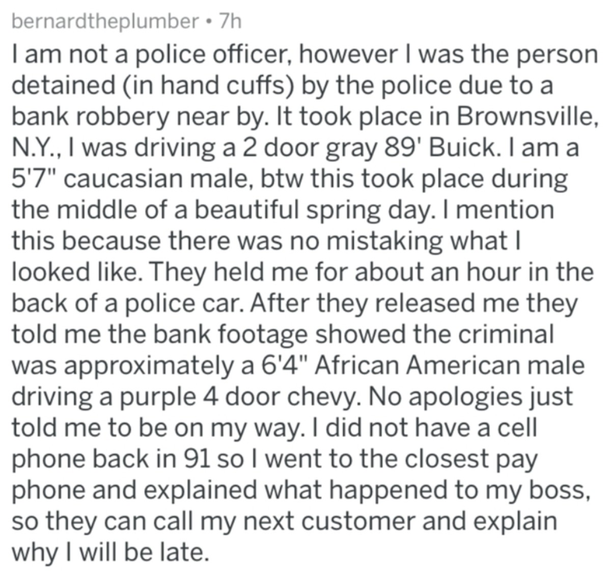 Police up stories. .. The last one really isn't a police up, more like cunt ex that got what she deserved