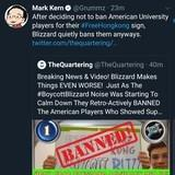 Blizzard reverses choice not to ban American university players